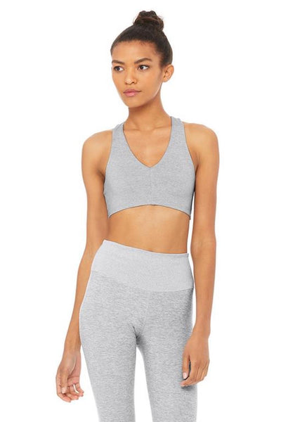 Alosoft Base Bra (Zinc Heather)
