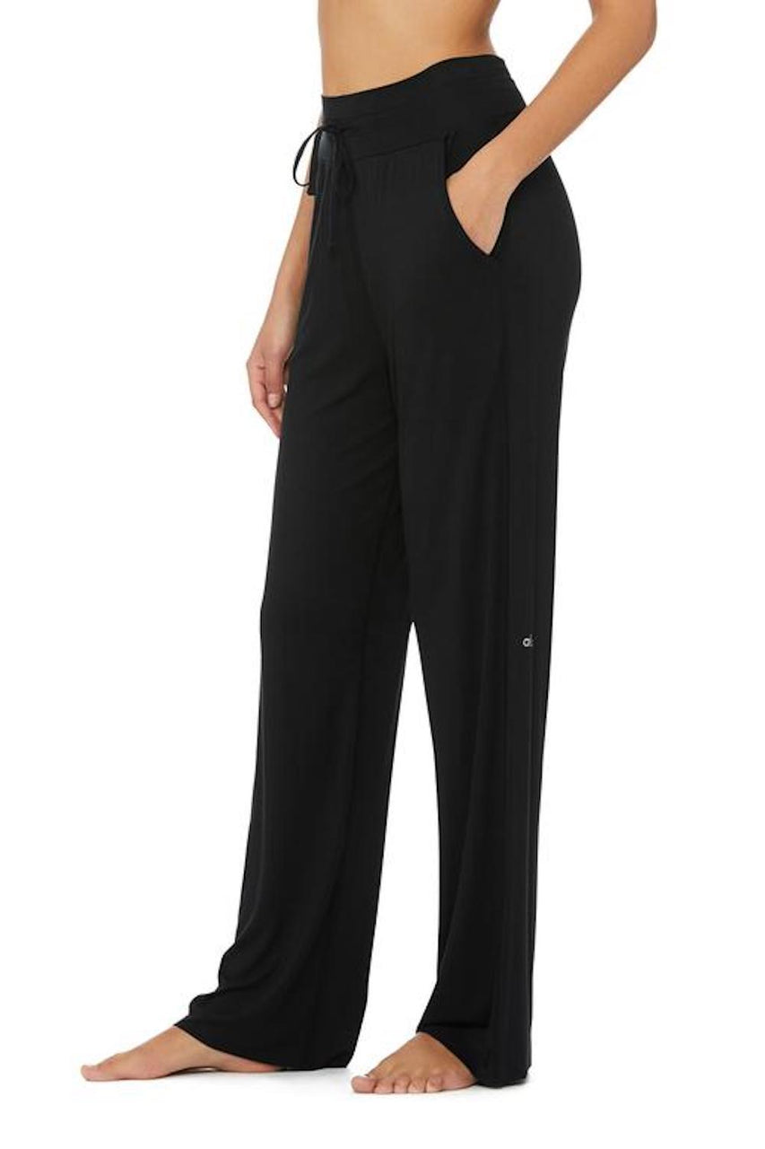 Extreme High-waist Cinch Pant (Black)