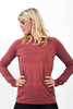 Comfort Long Sleeve (Dusty Rose)