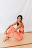 Classic High Waist Legging (Coral)