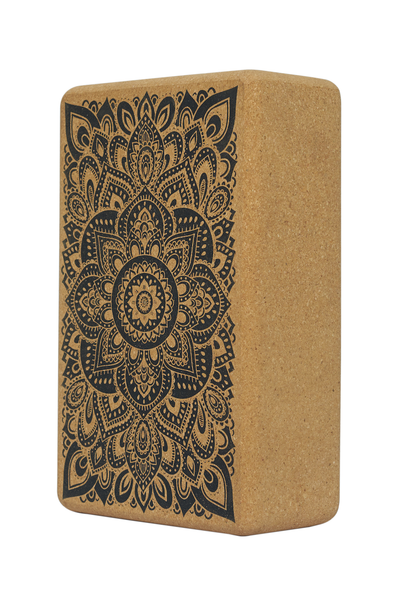 Cork Block (Mandala Black)
