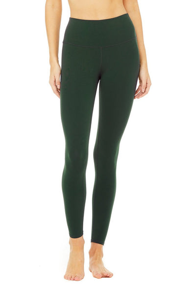 High-Waist Airbrush Legging (Forest)
