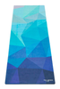 Travel 1.0mm Yoga Mat (Geo Blue)