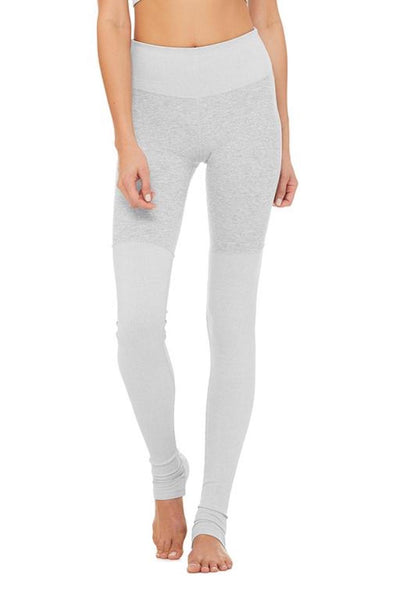 High-waist Alosoft Goddess Legging (Zinc Heather)