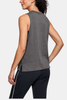Under Armour Wordmark Muscle Tank (Charcoal)