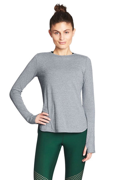 Warming Up Long Sleeve (Blue Mottle)