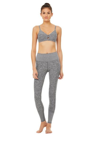 High-Waist Alosoft Lounge Legging (Dove Grey Heather)