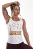 Love Life Yoga (White)