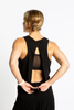 Tank Open Back (Black)