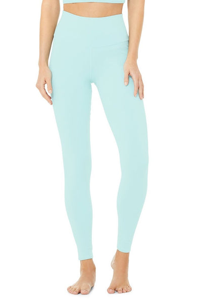 High-Waist Airbrush Legging (Blue Quartz)