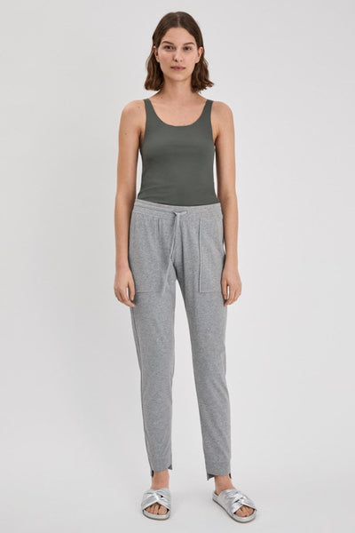 Restorative Cotton Pant (Light Grey)