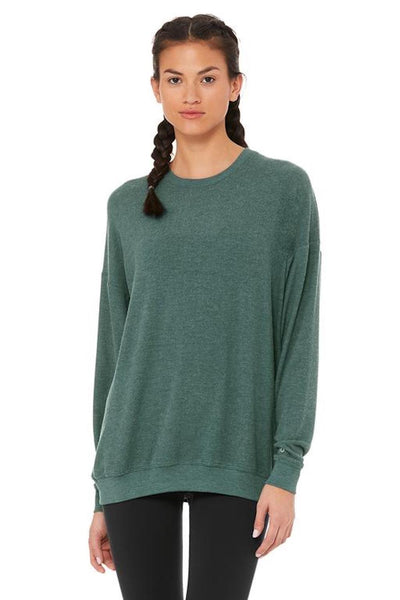 Soho Pullover (Seagrass Heather)