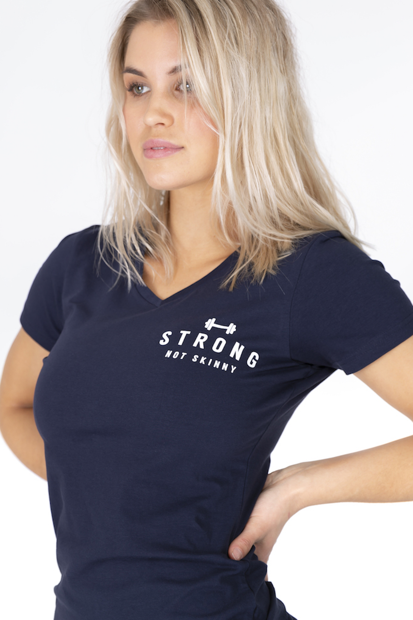 Strong not Skinny (Navy)