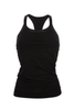 Wide Strap Vest (Beautiful Black)