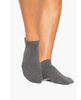 Union Grip Sock (Charcoal and white)