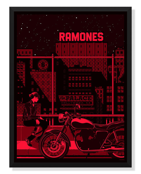 Ramones Poster By Kevin Tong