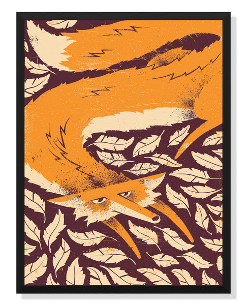 Fox in the Henhouse Poster by Eric Nyffeler
