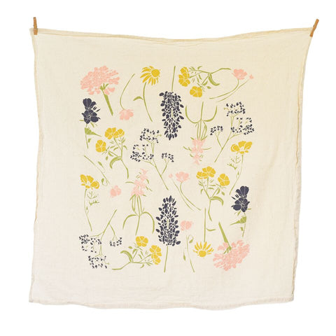 June & December - Southern Region Wildflowers Towel