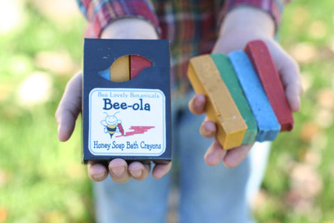 Beeswax Soap Crayons