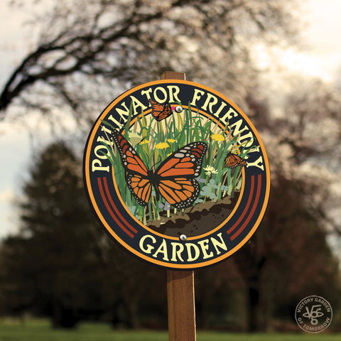 Butterfly Friendly Garden Sign