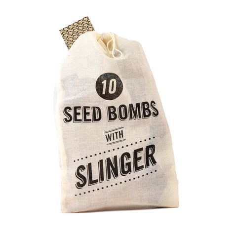 Seed Bomb with Slinger