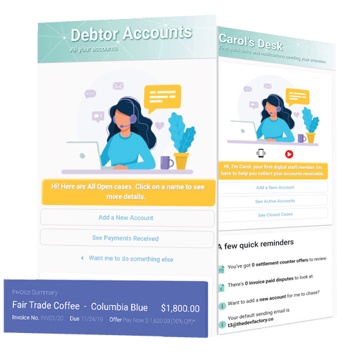 Automated Debt Followup Software