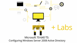 70-640 - Windows Server 2008 Active Directory Configuring + Live Lab