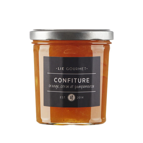 DIMM: Lie Gourmet jam with orange, lemon, grape · 370 gr