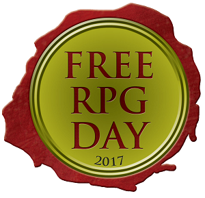 It's Free RPG Day 2017 - We've Got Games for you!!