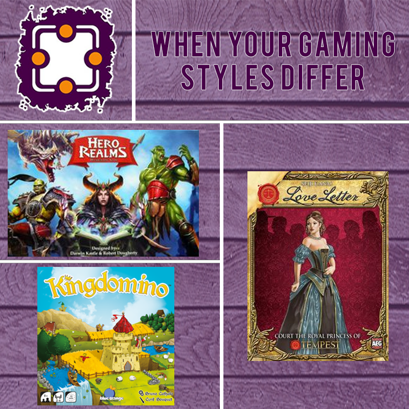 When Your Gaming Styles Differ