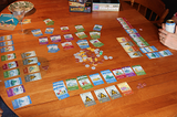 Playing Machi Koro #yourgamingsidekick #ironbeangames