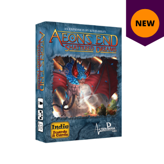 Aeon's End Shattered Dreams expansion board game