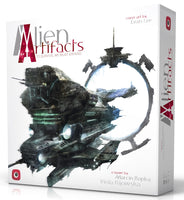 Alien Artifacts portal games board game box