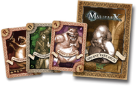 Malifaux 2E second edition Arcane Fate Deck Color Light