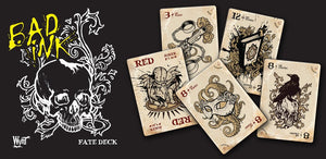 Malifaux 2E Bad Ink tattoo fate deck second edition