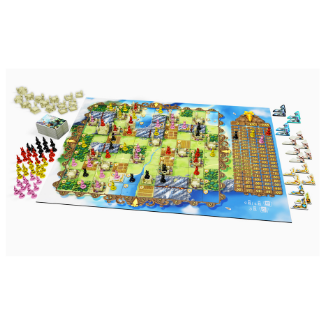 Bunny Kingdom board game gameplay components