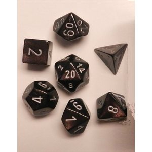 Borealis 7 Piece Dice Set - Smokey
