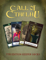 Call of Cthulhu 7th Edition Keeper Decks