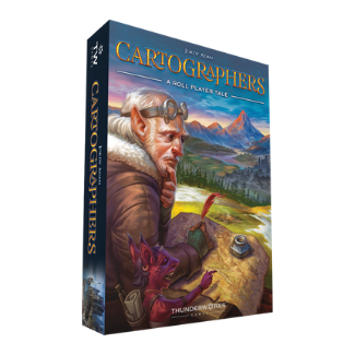 Cartographers A Roll Player Tale board game