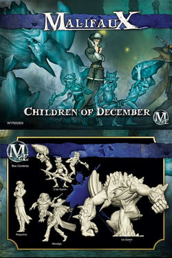 Children of December Rasputina Arcanists Crew Box Malifaux 2E Second Edition