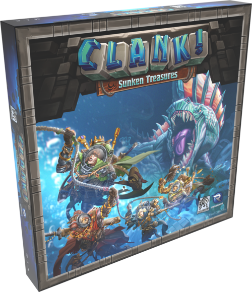 clank sunken treasures expansion deck building game