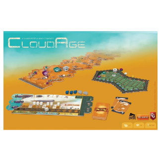 CloudAge board game setup