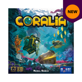 Coralia board game box