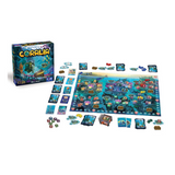 Coralia board game play components
