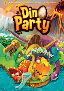 Dino Pary kids family board game box