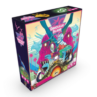 Dinosaur Island board game box
