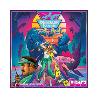 Dinosaur Island Totally Liquid board game expansion