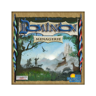 Dominion Menagerie board game box
