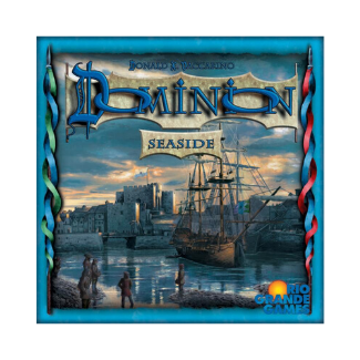 Dominion Seaside board game box