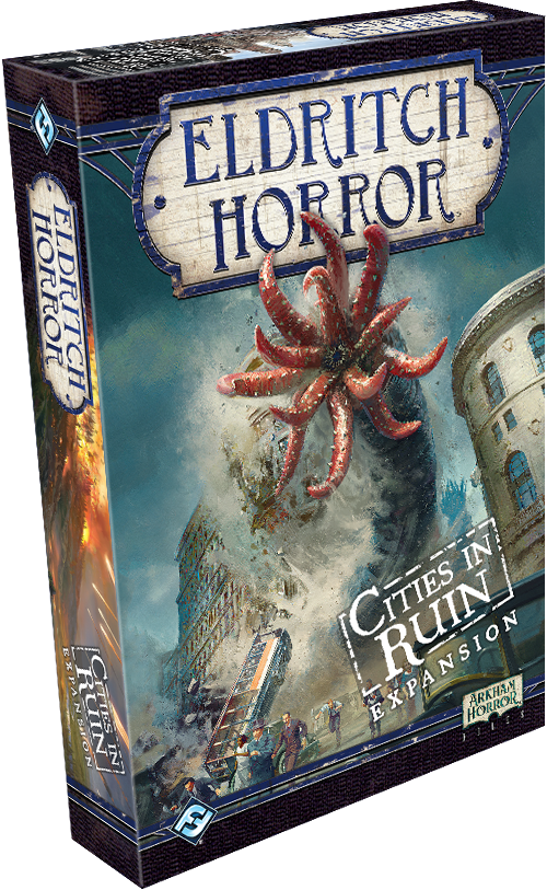 Eldritch Horror - Cities in Ruin (Expansion)